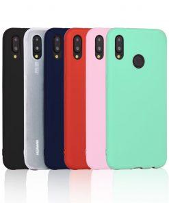 Custodia in Silicone Colorata Huawei P20